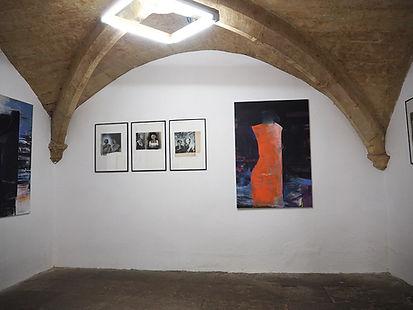 Laurence Briat l exposition l N5 galerie l hors séries | Montpellier l peinture l photomontages l