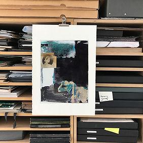 Laurence Briat | archives | collage | techniques mixtes |