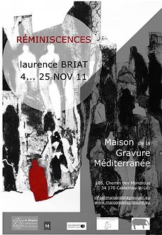 Laurence Briat | Exposition gravure | Maison de la gravure | Occitanie |