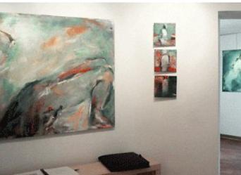 Laurence Briat | exposition peinture | suc de France | acrylique sur toile | présence humaine | figuration allusive | couleur |