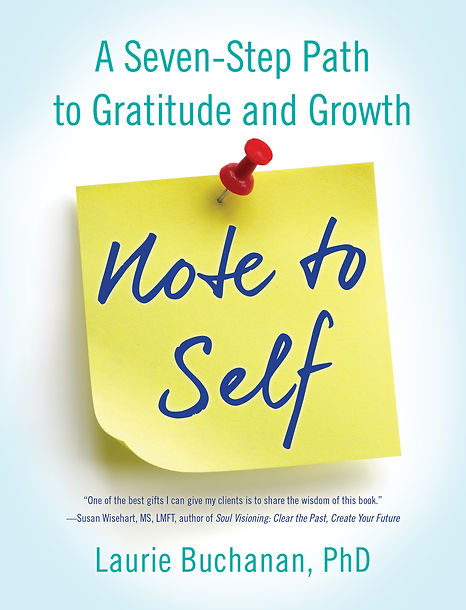 Cover of the book Note to Self: A Seven-Step Path to Gratitude and Growth