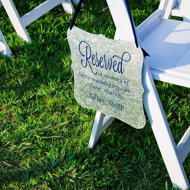 I saved a special seat just for you dadd