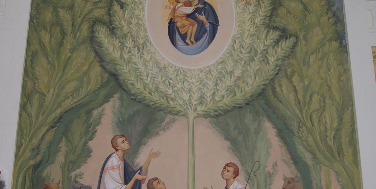 явление Жировицкой иконы Божией Матери,