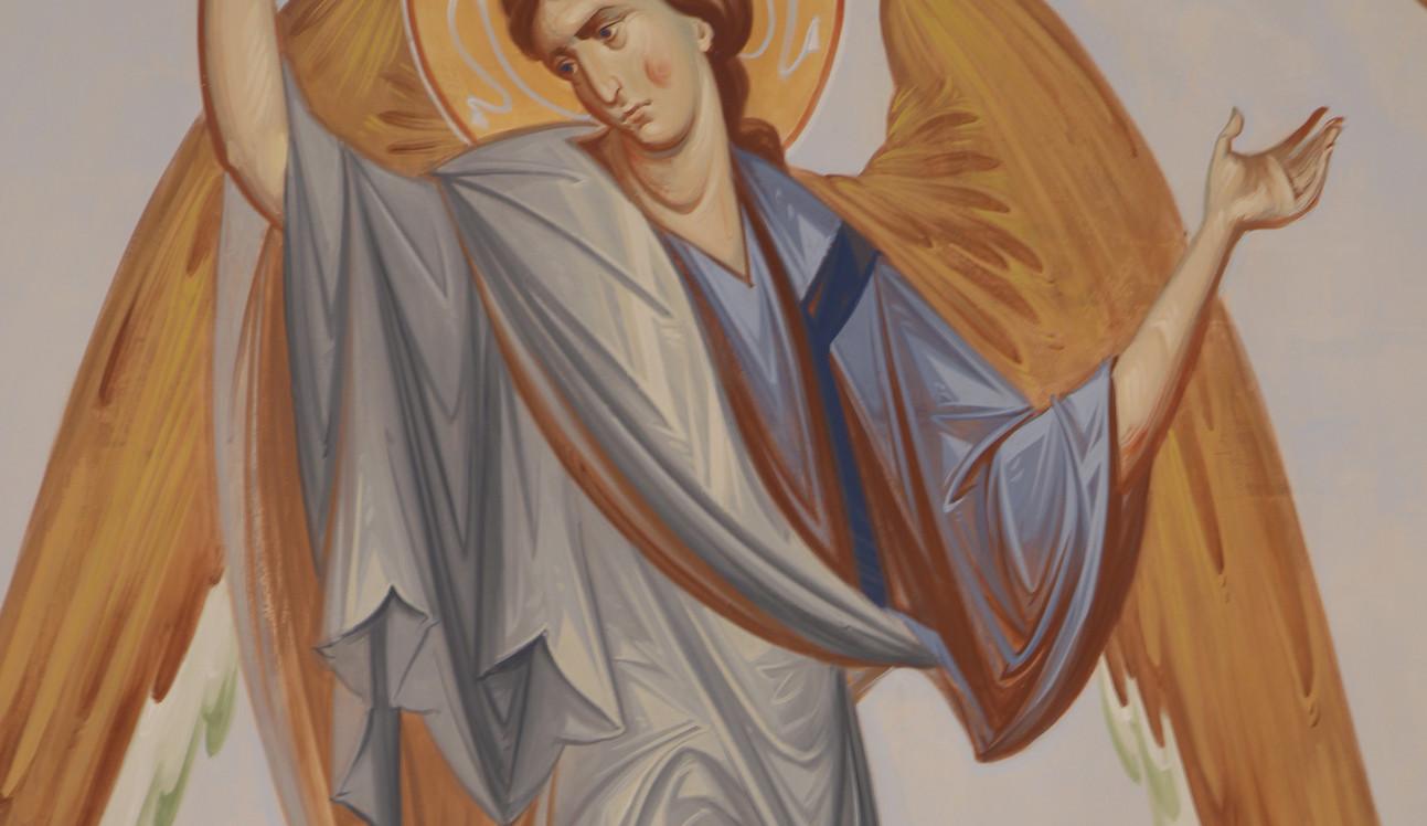 Ангелы, фрагмент