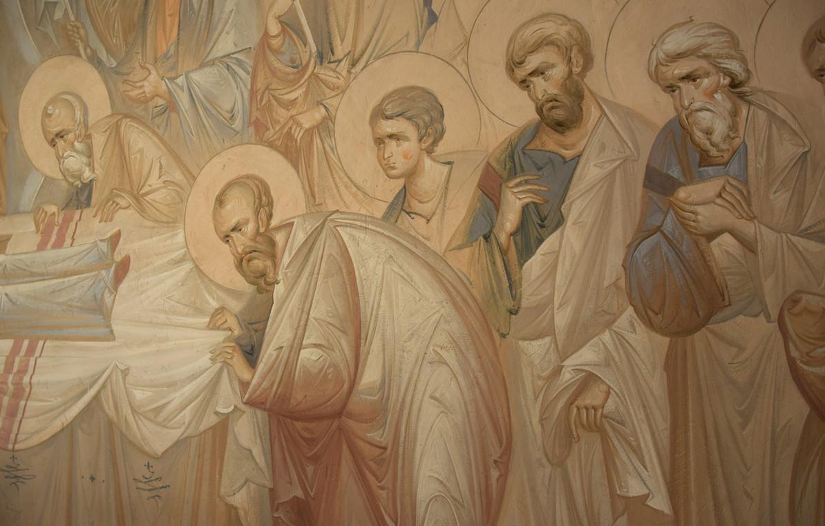 Успение, апостолы