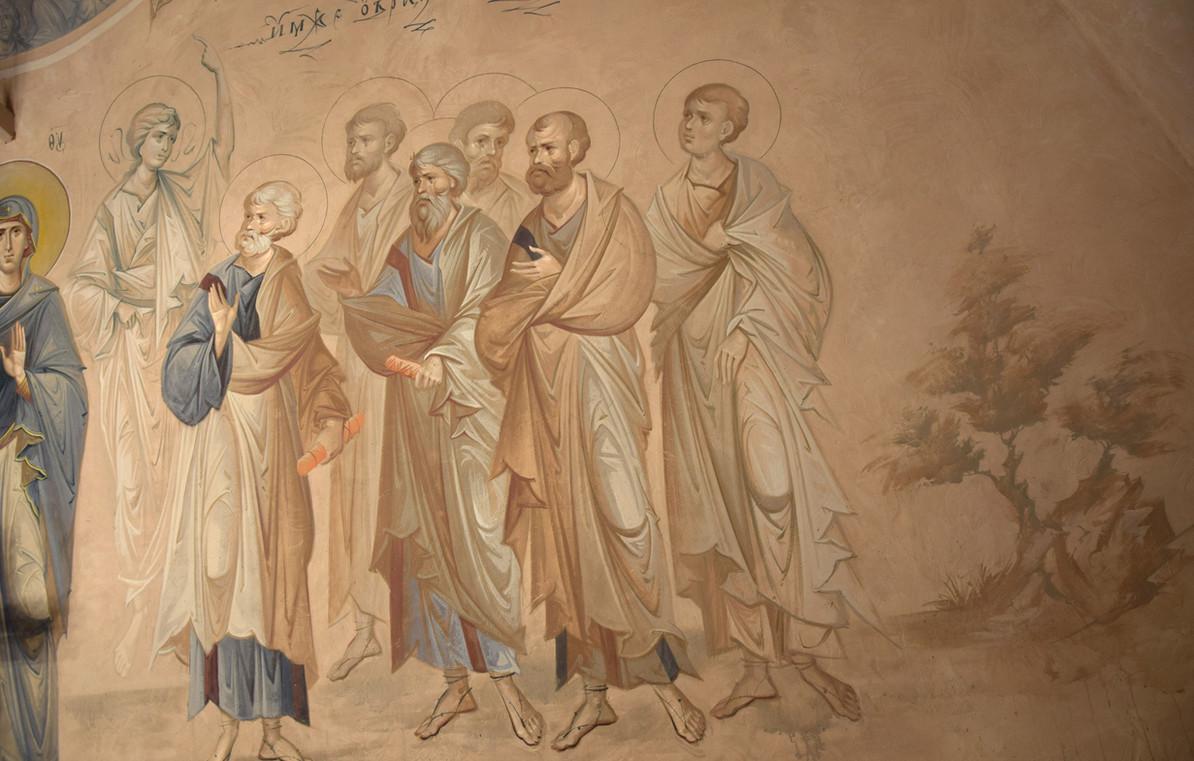 Апостолы, Вознесение