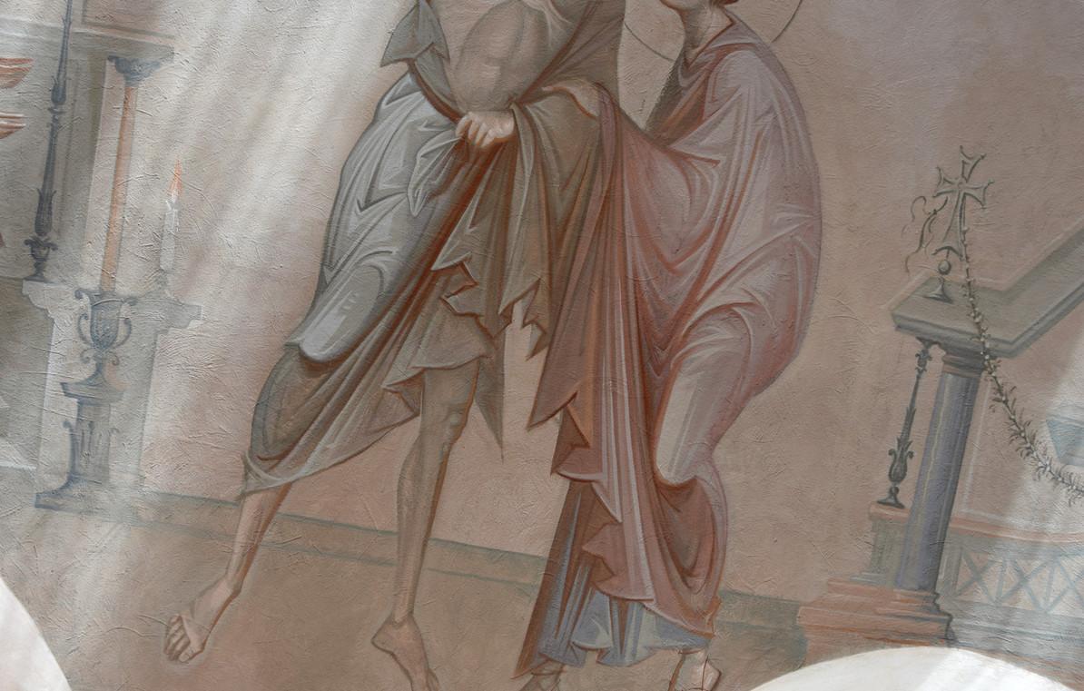 Андрей и Епифаний, Покров, фрагмент