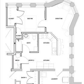 Apartment 106, 206