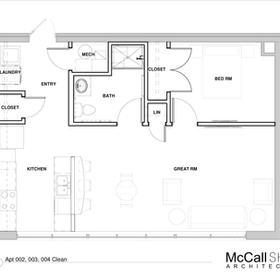 Apartment 002, 003, 004