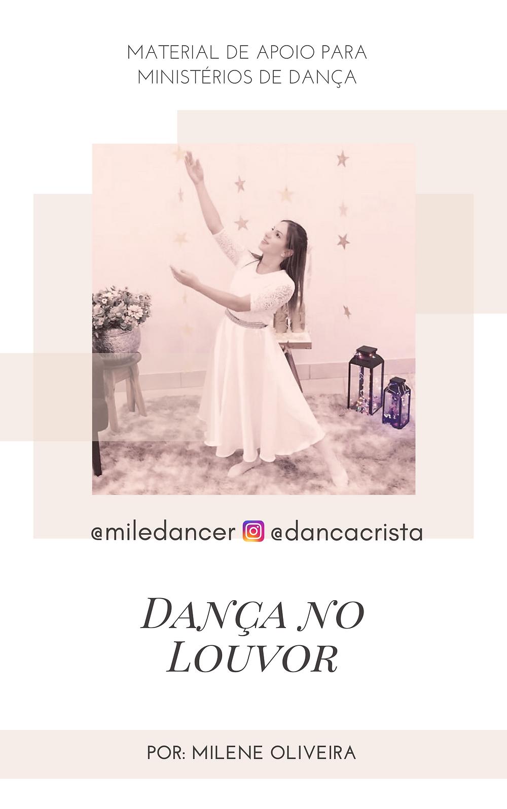 Apostila e estudos grátis para ministério de dança, dança cristã, Milene Oliveira, Ebook Grátis Dança no Louvor