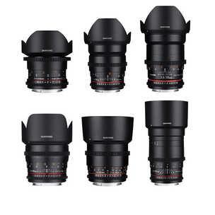 Samyang CINE Lens Set