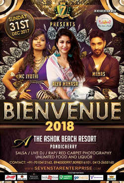 New Year event 2018 Flyer