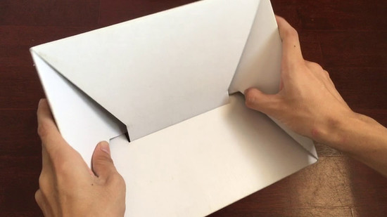 Self-erecting box