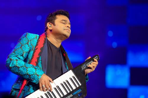 AR Rahman event photography