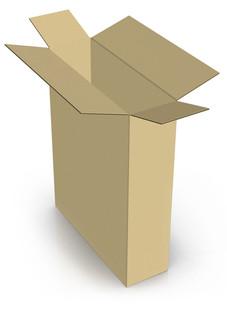 Fully Overlapped Corrugated-Box