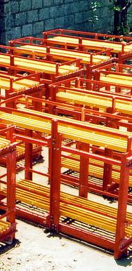 Battrey Storage Rack
