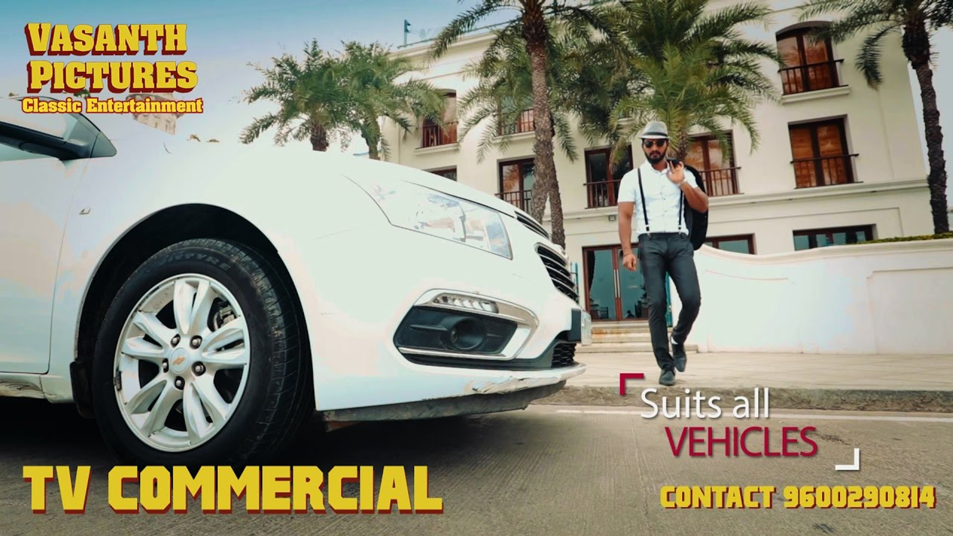 Tv commercial for tyre protector