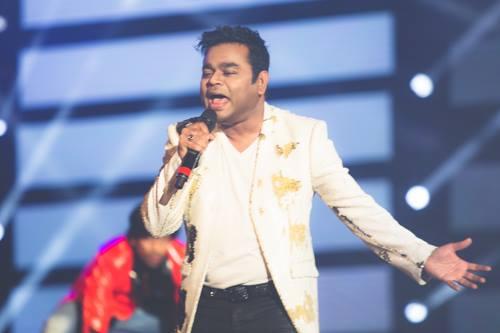 A.R Rahman Concert Candid photo