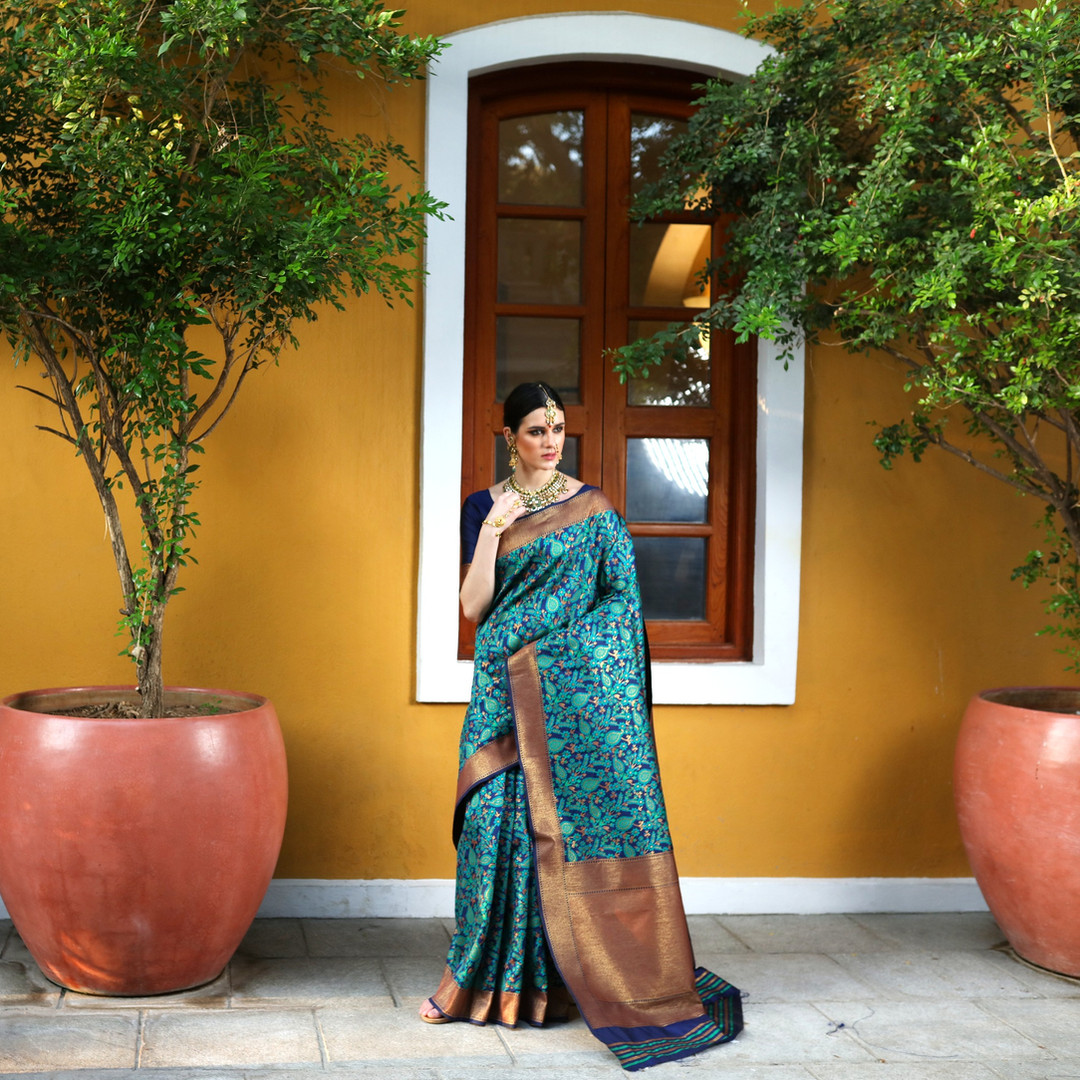 Saree Fashion Photography