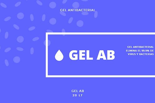 Gel Antibacterial, Gel Sanitizante, Gel Antiseptico, 20 Lt