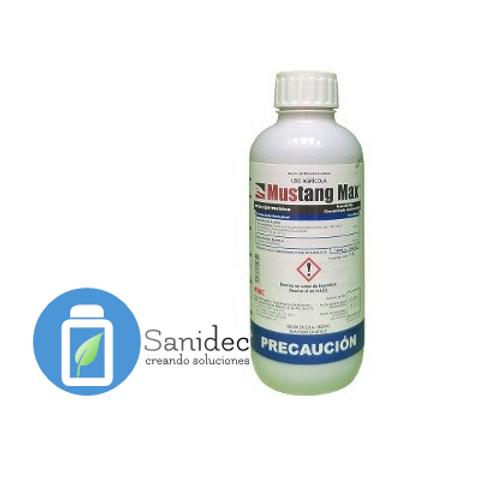 Insecticida Z Cipermetrina, Mustang Max 1 Litro, Mustang Max FMC