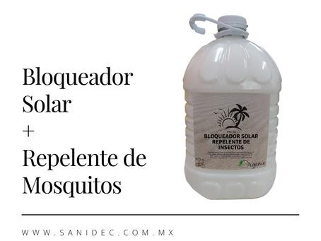 Bloqueador Solar, Repelente de insectos, Repelente de Mosquitos, FPS 50, Bloqueador Solar Ecologico