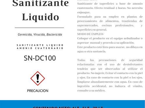 Desinfectante Liquido, Sanitizante de Superficies, Sanitizacion, Desinfeccion