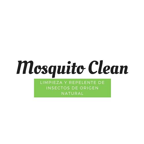 Mosquito Clean, Limpieza y Repelente de Insectos Natural