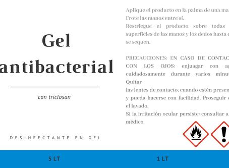 Gel antibacterial mejor precio