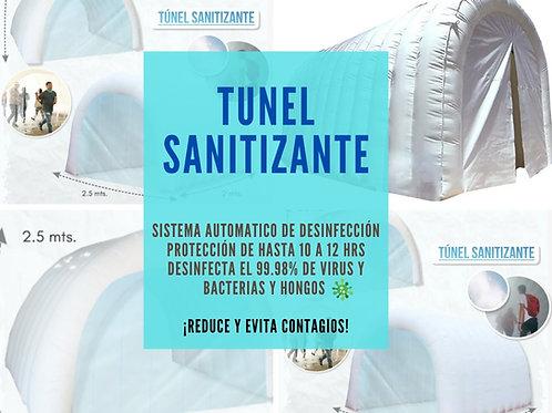 Tunel Sanitizante, Arco Sanitario, Tunel desinfectante