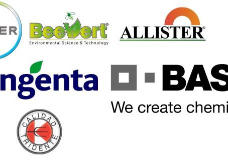 Distribuidores de productos para el control de plagas