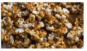 photo of salted caramel popcorn