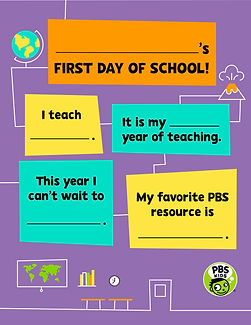 PBS KIDS_Back To School_2019_First Day T