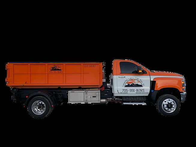 6yd Bin and Truck