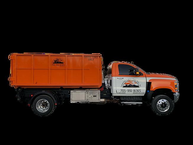 10yd Bin and Truck