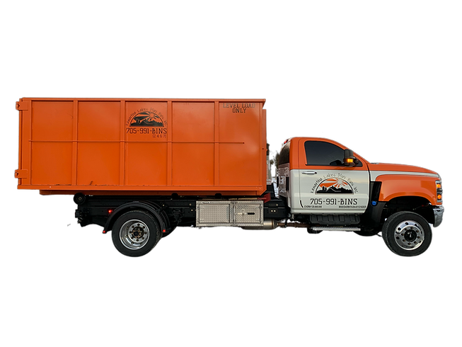 20yd Bin and Truck