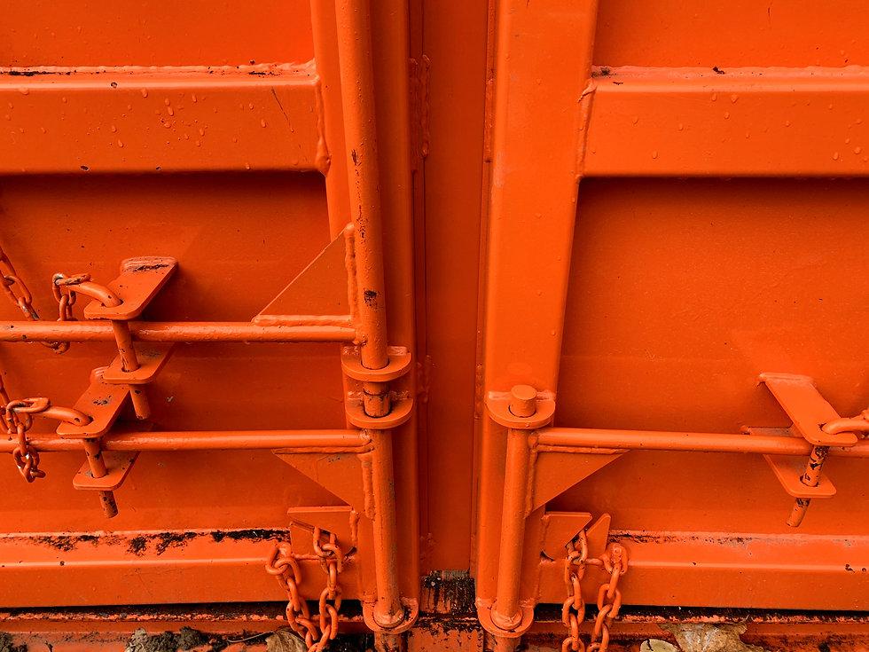 Dumpster Bin Double Doors
