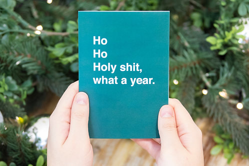 COVID Christmas card | Holy Sh*t