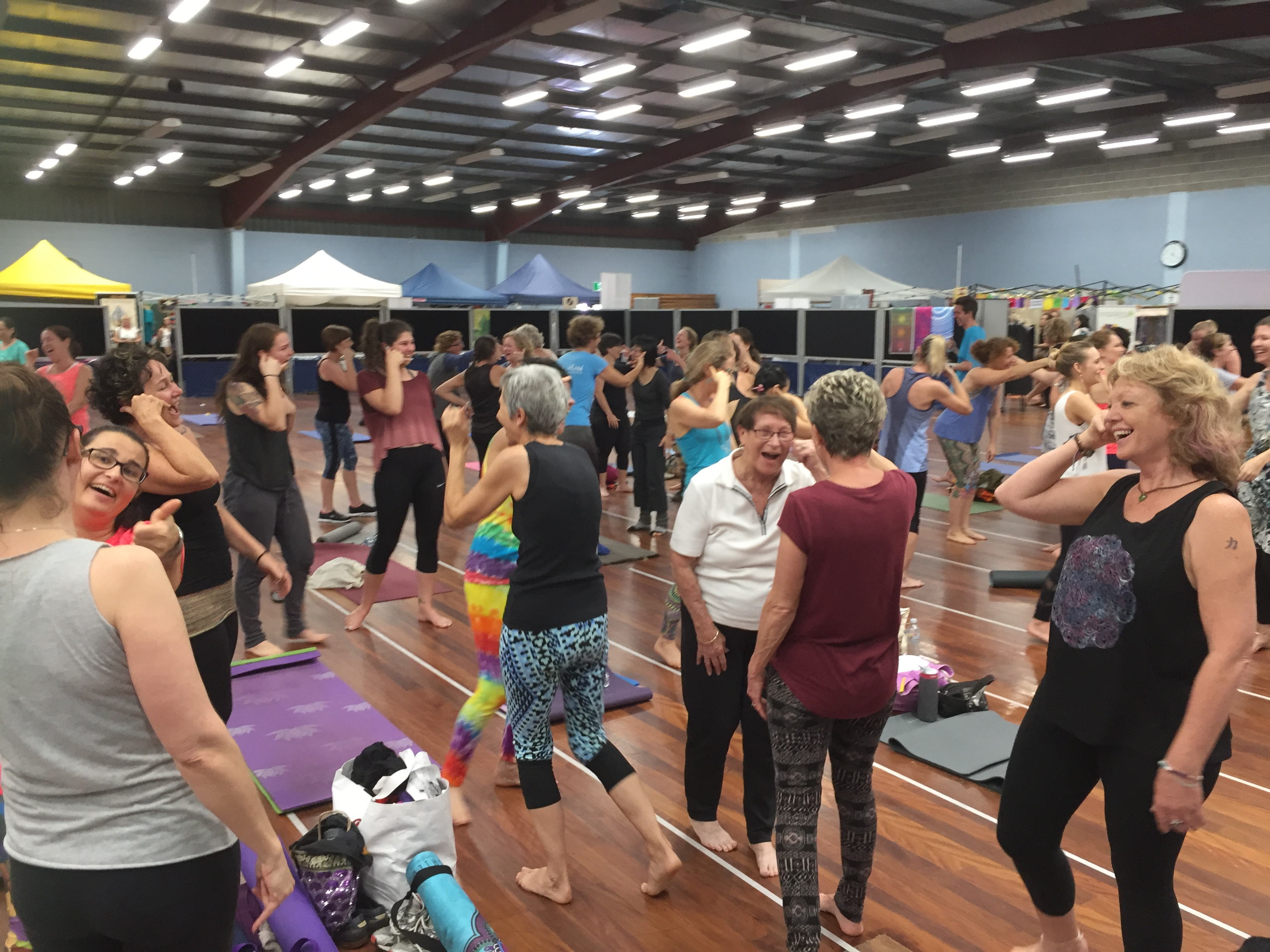 World Yoga Day Brisbane 2016