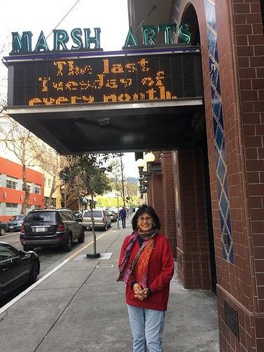 Irma Herrera Marsh Arts Tell it on Tuesday San Francisco Berkely Marsh Theater
