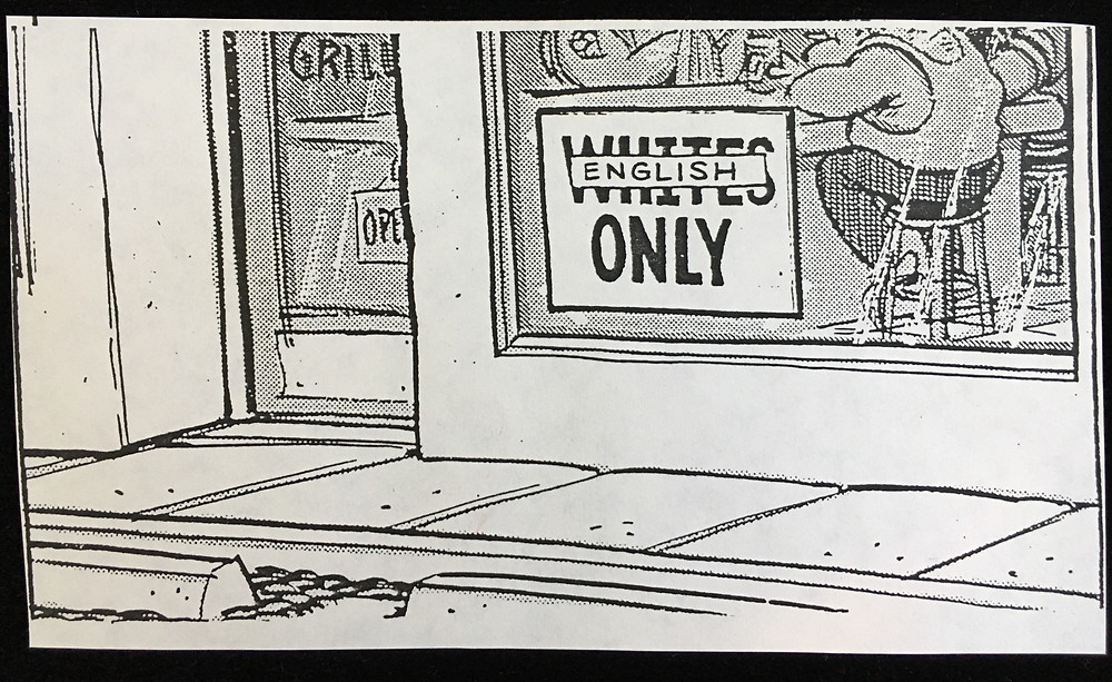 Political Cartoon from mid-1990s