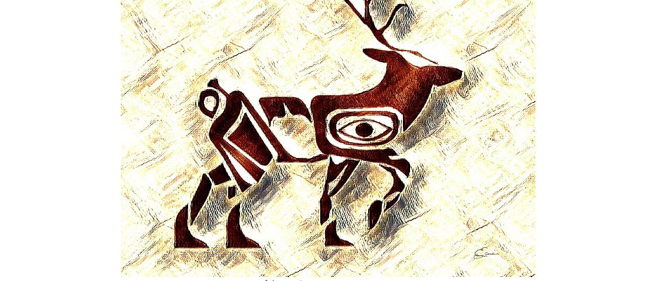 Chevreuil - Animal totem de naissance amérindien