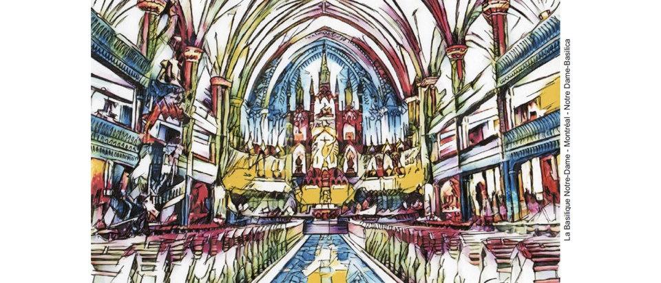 Vieux-Montréal, Basilique Notre Dame