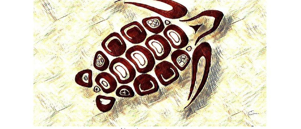 Tortue - Animal totem de naissance amérindien