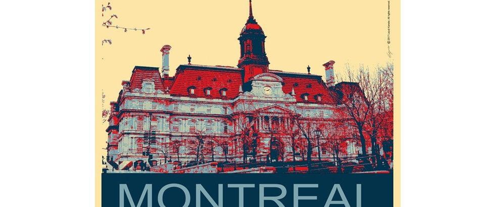 Vieux-Montréal - Poster
