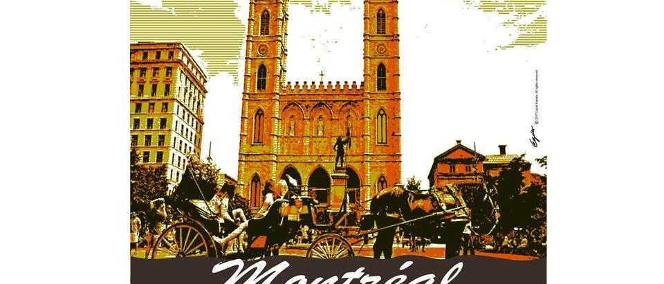 Vieux-Port de Montréal - Poster