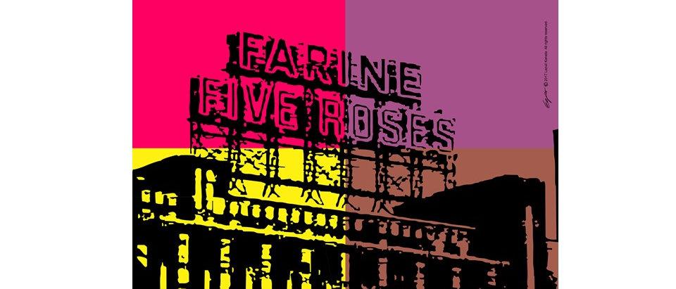 Farine Five Roses - Poster