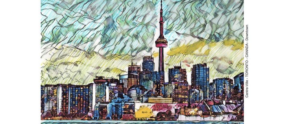 Ville de Toronto – Vue panoramique