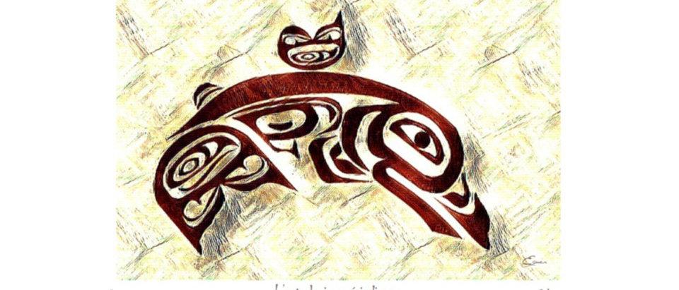 Saumon - Animal totem de naissance amérindien