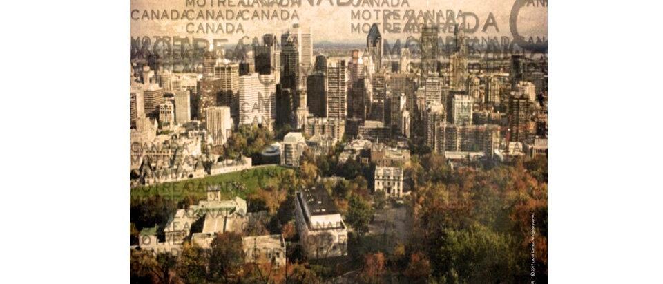Ville de Montréal - Poster